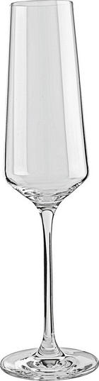 SEKTGLAS - Transparent, Design, Glas (7,20/26,00/7,20cm) - Leonardo