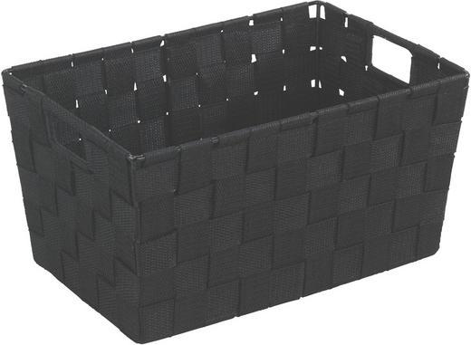 KORB - Schwarz, Kunststoff (30/20/15cm)