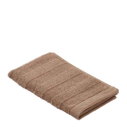 GÄSTETUCH Taupe 30/50 cm - Taupe, Basics, Textil (30/50cm) - Linea Natura