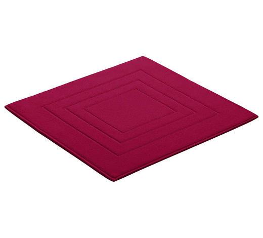 BADEMATTE in Pink 60/60 cm  - Pink, Basics, Textil (60/60cm) - Vossen