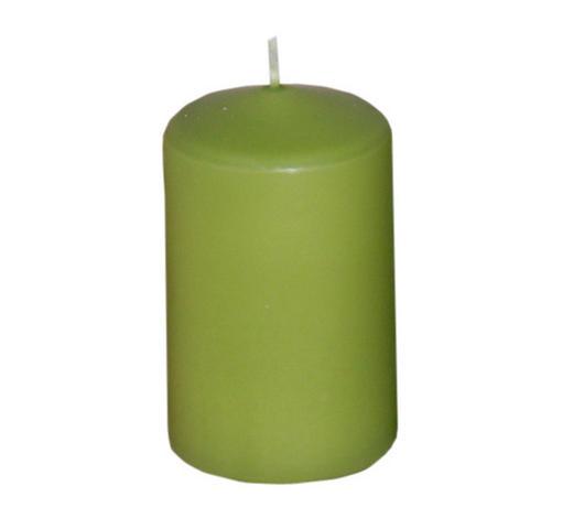SVÍČKA - světle zelená, Basics (4,7/8,0cm) - Steinhart