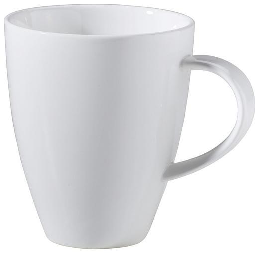 KAFFEEBECHER 300 ml - Weiß, Design, Keramik (0,3l) - Ritzenhoff Breker