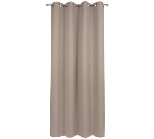 ÖSENSCHAL  Verdunkelung  140/245 cm   - Beige/Braun, Basics, Textil (140/245cm) - Esposa