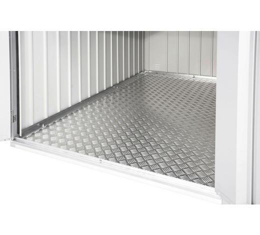 BODENPLATTE 109/0,2/190 cm - Silberfarben, Design, Metall (109/0,2/190cm) - Biohort