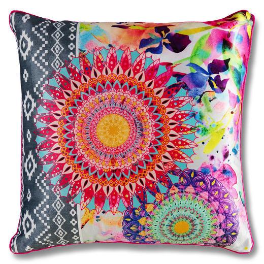 ZIERKISSEN 48/48 cm - Pink/Multicolor, Trend, Textil (48/48cm)