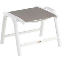 GARTENHOCKER - Weiß/Grau, Design, Textil/Metall (61,5/44/49,5cm) - Kettler HKS