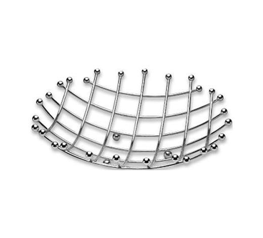 SKLEDA ZA SADJE LIFESTYLE - srebrna, Konvencionalno, kovina (37cm) - Justinus