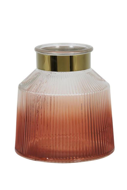 WINDLICHT - Orange, LIFESTYLE, Glas/Metall (19/20cm)