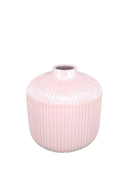 VASE - Rosa, Basics, Keramik (16/16cm) - Ambia Home