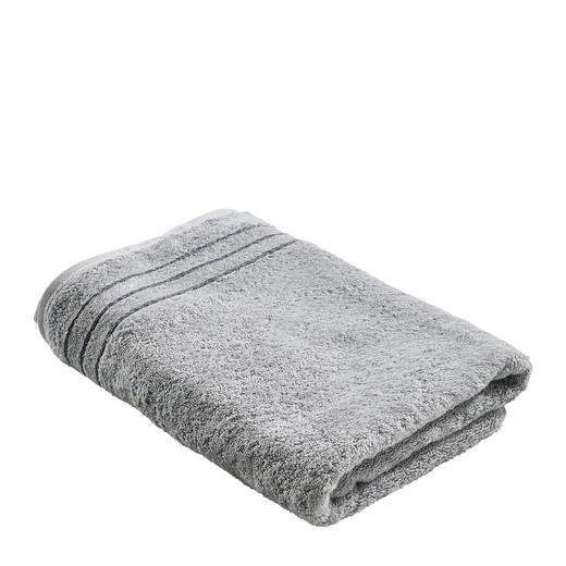 DUSCHTUCH 70/140 cm - Platinfarben, Basics, Textil (70/140cm) - CAWOE