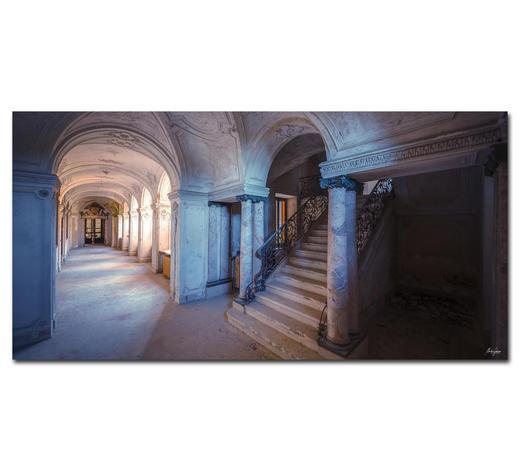 Architektur BILD YOU WERE THE SHADOW  - Multicolor, Basics, Holzwerkstoff/Kunststoff (200/100cm) - Wiedemann