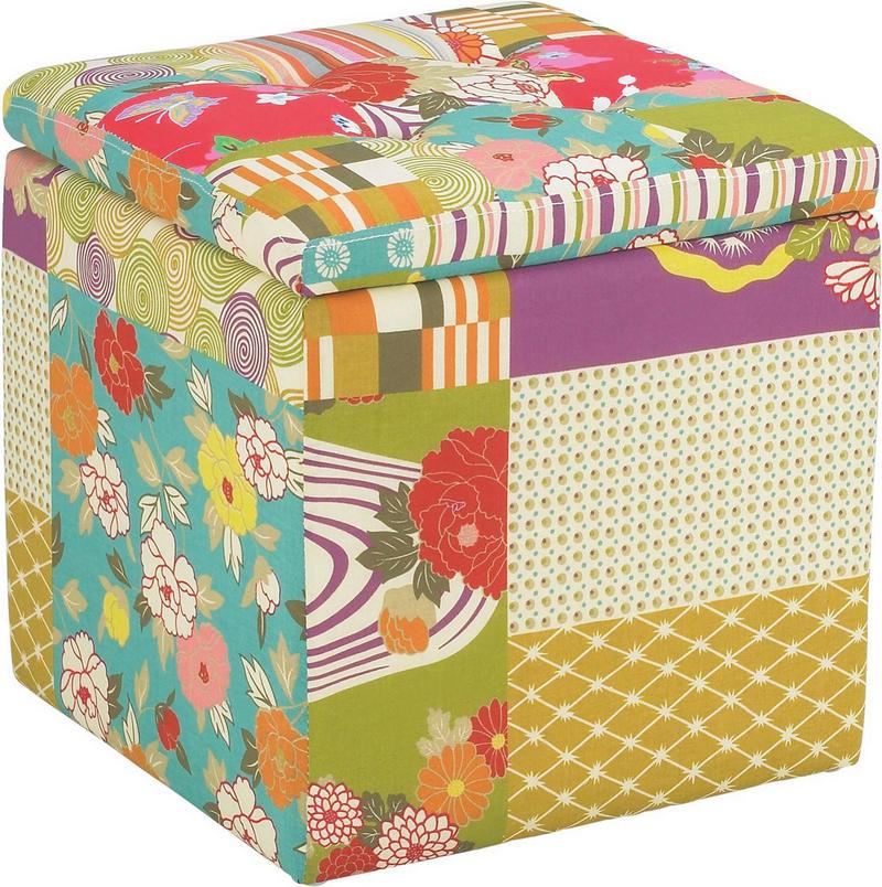 SITTKUB - multicolor, Lifestyle, textil (40/40/40cm)