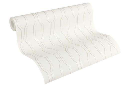 VLIESTAPETE 10,05 m - Beige/Weiß, LIFESTYLE, Textil (53/1005cm)
