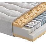 TASCHENFEDERKERNMATRATZE Höhe ca. 23 cm  - Weiß, Basics, Textil (90/200cm) - Novel