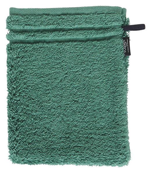 WASCHHANDSCHUH - Grün, Basics, Textil (22 16 cm) - Vossen