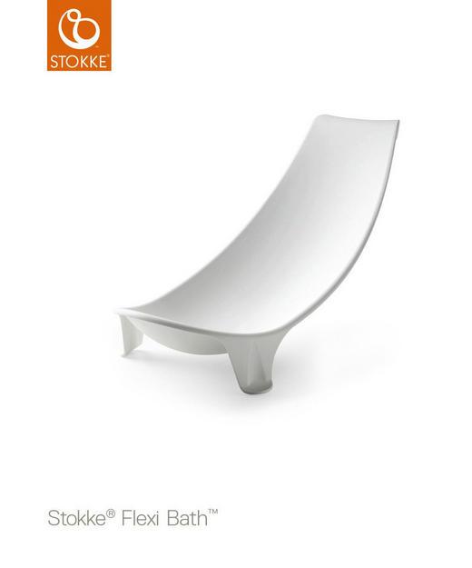 BADEWANNENEINSATZ - Weiß, Basics, Kunststoff (46/20/6cm) - Stokke