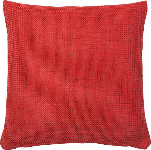 KISSENHÜLLE Rot 50/50 cm - Rot, Basics, Textil (50/50cm)