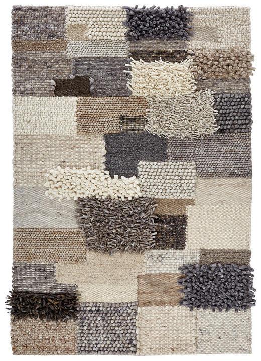 HANDWEBTEPPICH - Beige/Braun, Basics, Textil (140/200cm) - Linea Natura