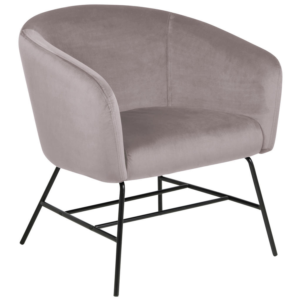 Ambia Home SESSEL Samt Rosa
