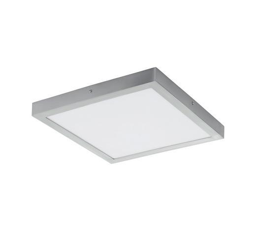 AUFBAULEUCHTE LED-Leuchtmittel - Weiß/Nickelfarben, Design, Kunststoff/Metall (40/40/3cm)