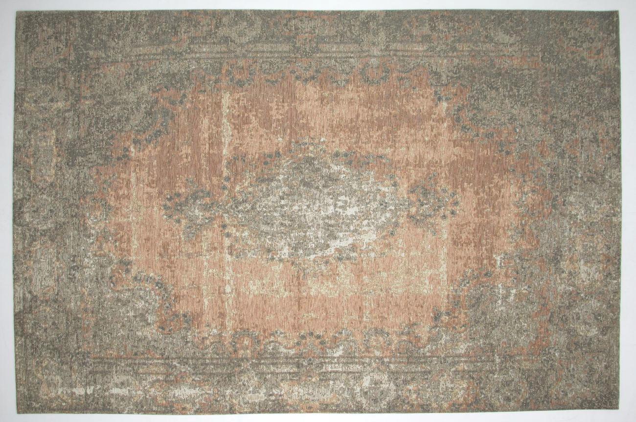 FLACHWEBETEPPICH  Beige, Rosa  200/290 cm - Beige/Rosa, Textil (200/290cm) - NOVEL