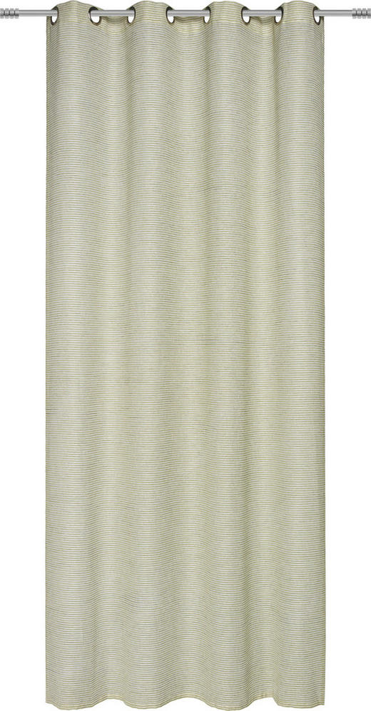 ÖSENSCHAL  halbtransparent   140/245 cm - Grün, Basics, Textil (140/245cm) - Esposa