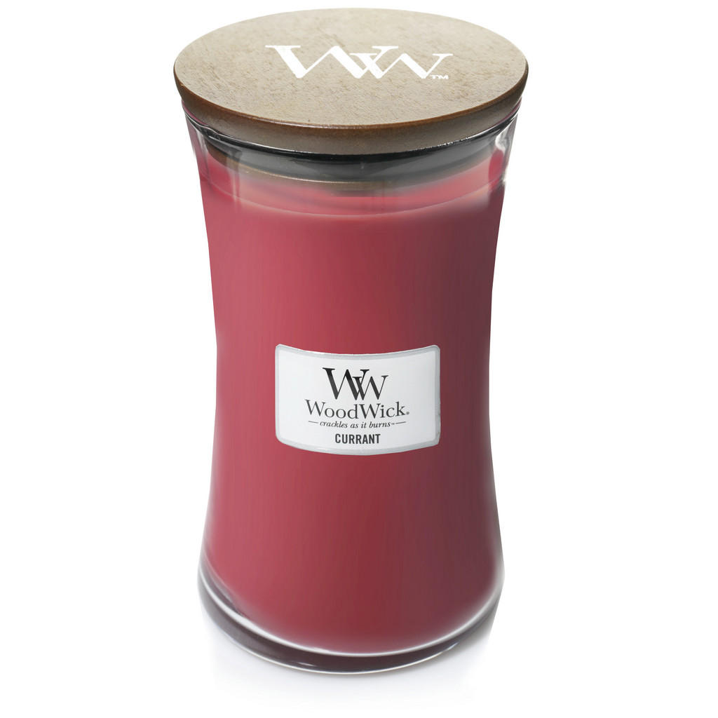 Yankee Candle Duftkerze woodwick currant
