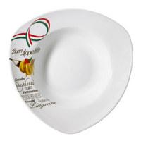 PASTATELLER Porzellan - Multicolor/Weiß, KONVENTIONELL (30cm) - HOMEWARE