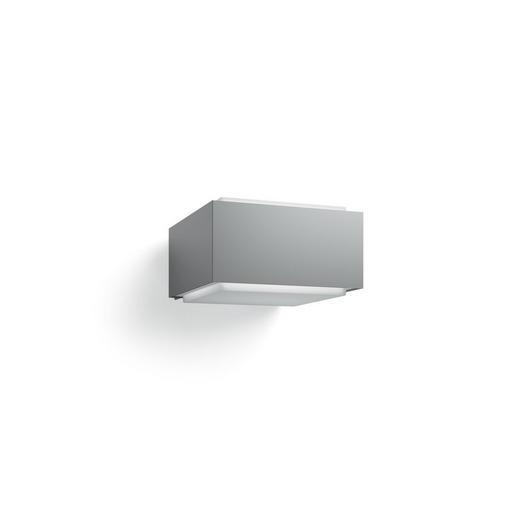 LED-Außenleuchte Hue Hedgehog Grau, Weiß - Weiß/Grau, Design, Kunststoff/Metall (16,0/9,1/18,2cm) - Philips