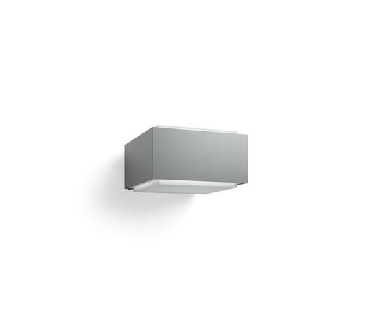 MYGARDEN AUßENWANDLEUCHTE Grau, Weiß  - Weiß/Grau, Design, Kunststoff/Metall (16,0/9,1/18,2cm) - Philips