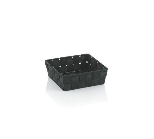 KOŠARA ALVARO, ČRNA - črna, Konvencionalno, umetna masa (19/19/6cm) - Kela