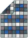 WOHNDECKE 150/200 cm Petrol  - Petrol, Textil (150/200cm) - Novel