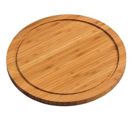 PRKÝNKO - hnědá, Basics, dřevo (25/25/1,3cm) - Homeware