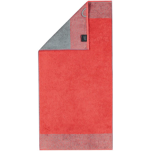 HANDTUCH 50/100 cm - Rot, Design, Textil (50/100cm) - Cawoe