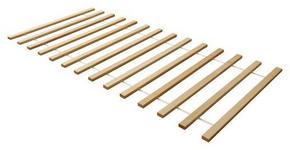 ROLLROST 90/200 cm  - Buchefarben, Basics, Holz (90/200cm) - Carryhome