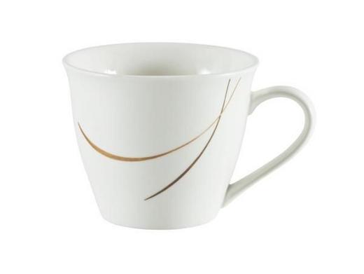 KAFFEEOBERTASSE 200 - Braun/Weiß, Design, Keramik (0,2l) - Ritzenhoff Breker