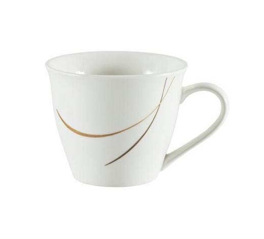 KAFFEEOBERTASSE 200 ml - Braun/Weiß, Design, Keramik (0,2l) - Ritzenhoff Breker