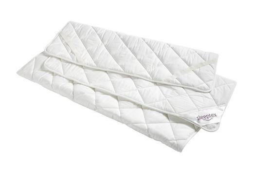 PODLOŽKA NA POSTEL - bílá, Basics, textilie (90/200cm) - Sleeptex