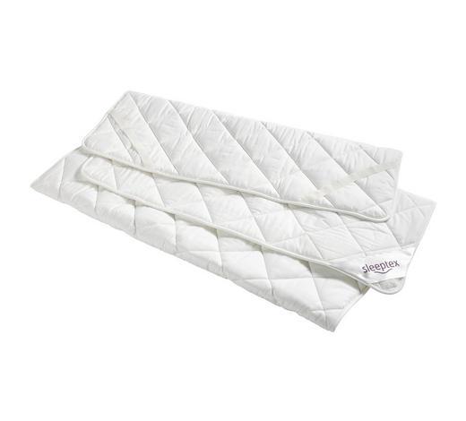 PODLOŽKA NA POSTEL - bílá, Basics, textilie (140/200cm) - Sleeptex