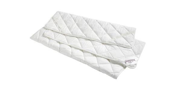 UNTERBETT 160/200 cm  - Weiß, Basics, Textil (160/200cm) - Sleeptex