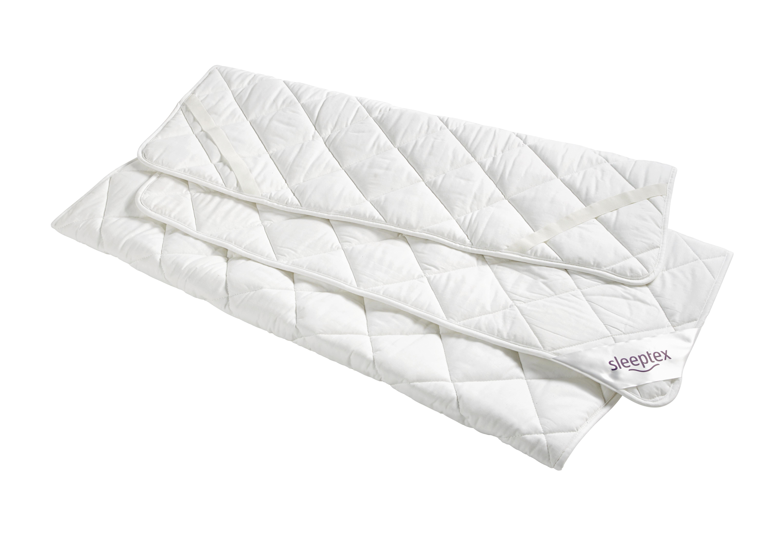 UNTERBETT 90/200 cm - Weiß, Basics, Textil (90/200cm) - SLEEPTEX