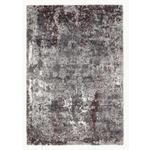 WEBTEPPICH  - Beige/Aubergine, Trend, Textil (80/150cm) - Novel