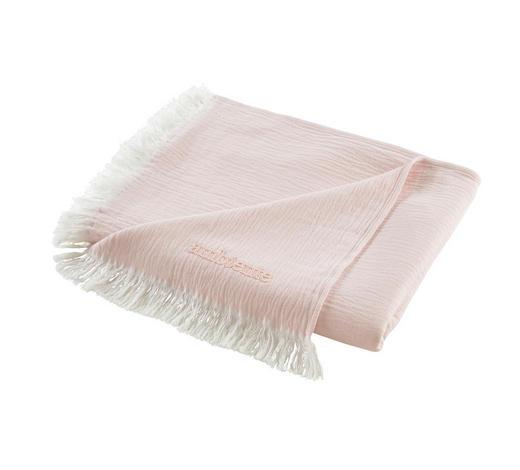 DEKA, 130/170 cm, růžová, bílá - bílá/růžová, Konvenční, textil (130/170cm) - Ambiente