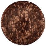 PLATZTELLER  32 cm  - Kupferfarben, Trend, Glas (32cm) - Ambia Home