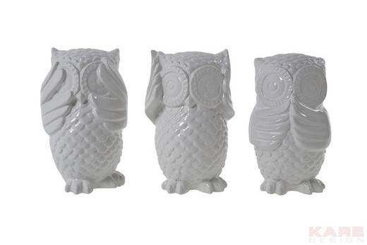 SPARDOSE - Weiß, Basics, Stein (10/16.3/11.5cm) - KARE-Design