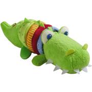 Ratterfigur Kroko - Multicolor/Grün, Basics, Kunststoff (19/8/13,5cm) - Haba