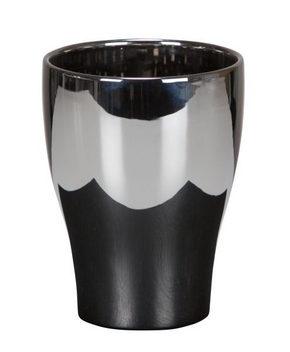 YTTERKRUKA - silver/svart, Design, keramik (13,6/13,6/17,3cm)