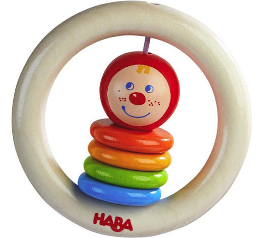 GREIFLING - Multicolor, Basics, Holz (9cm) - Haba