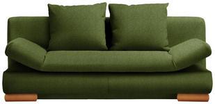 SCHLAFSOFA in Textil Dunkelgrün  - Dunkelgrün, Design, Holz/Textil (200/87/93cm) - Venda