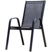 VRTNA STOLICA - crna, Moderno, metal/tekstil (55/92/73cm) - Ambia Garden